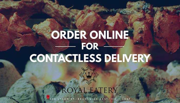 Contactless Delivery With Royal Eatery