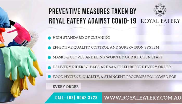 Preventive Measures Taken by Royal Eatery