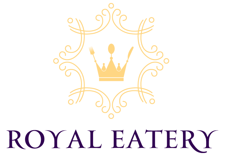 Royal Eatery Logo Blue