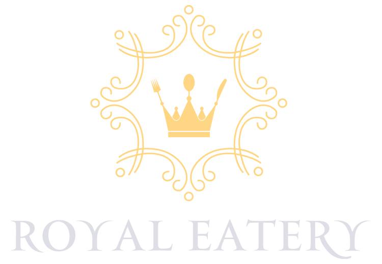 Royal Eatery Logo White