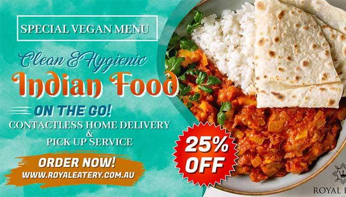 Vegan Restaurants Melbourne opting for Contactless Delivery