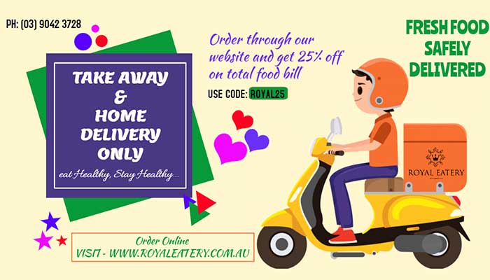 it's safe to order from Royal Eatery